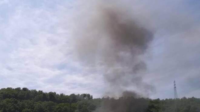 furgone in fiamme, a26