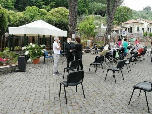 Giampio Devasini al Centro Benedetto Acquarone.