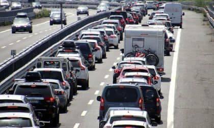 traffico, code, autostrada