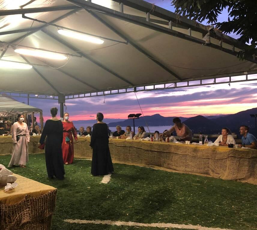 A Cena con i Fieschi, Cogorno