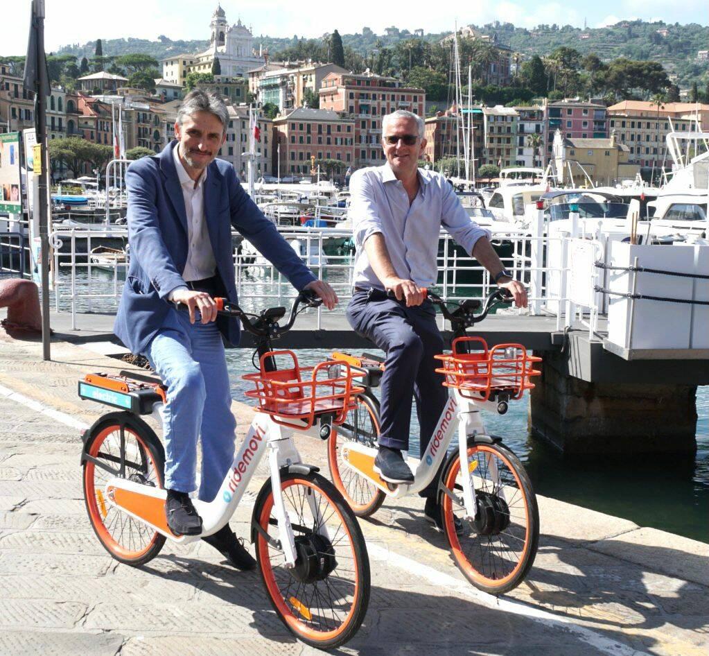 bike sharing a Santa Margherita