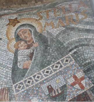 Camogli mosaico Stella Maris