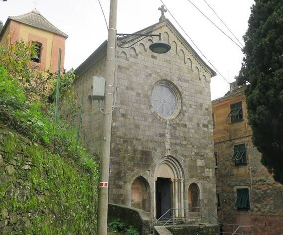 Camogli San Nicolò chiesa