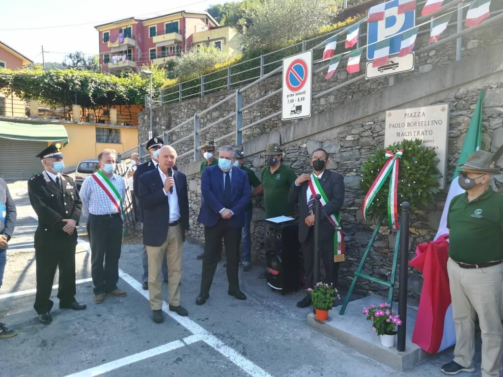 celebrazione Paolo Borsellino