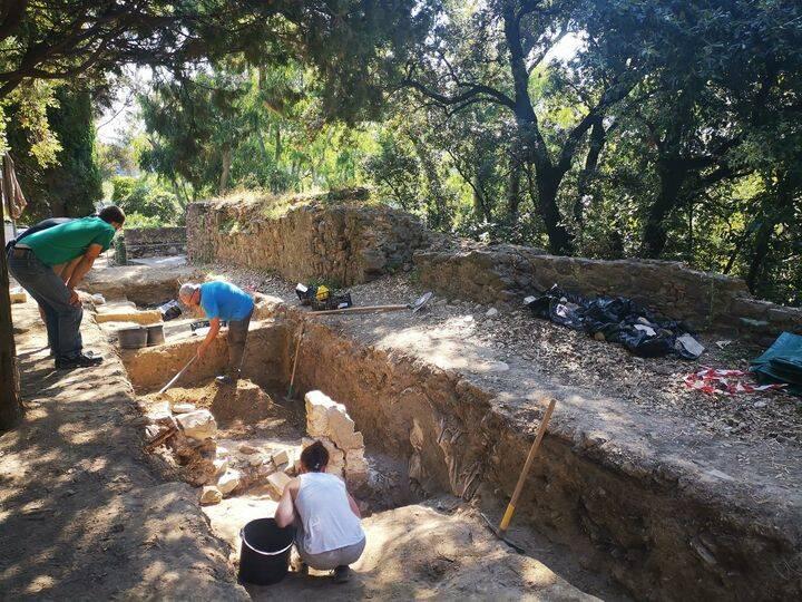 chiesa di san nicolò, scavi