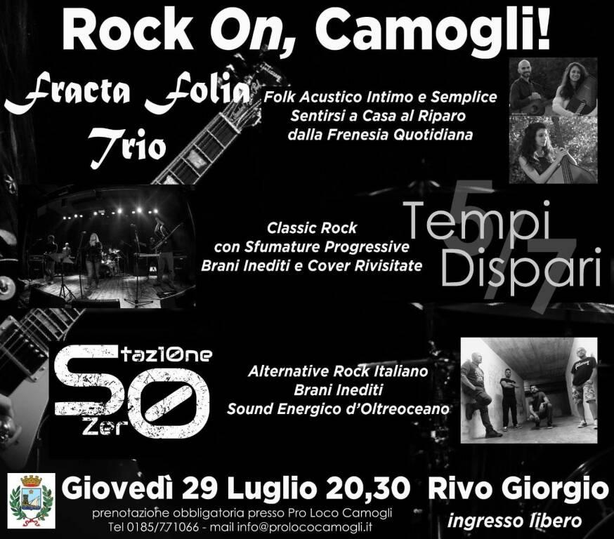 concerto rock a Camogli