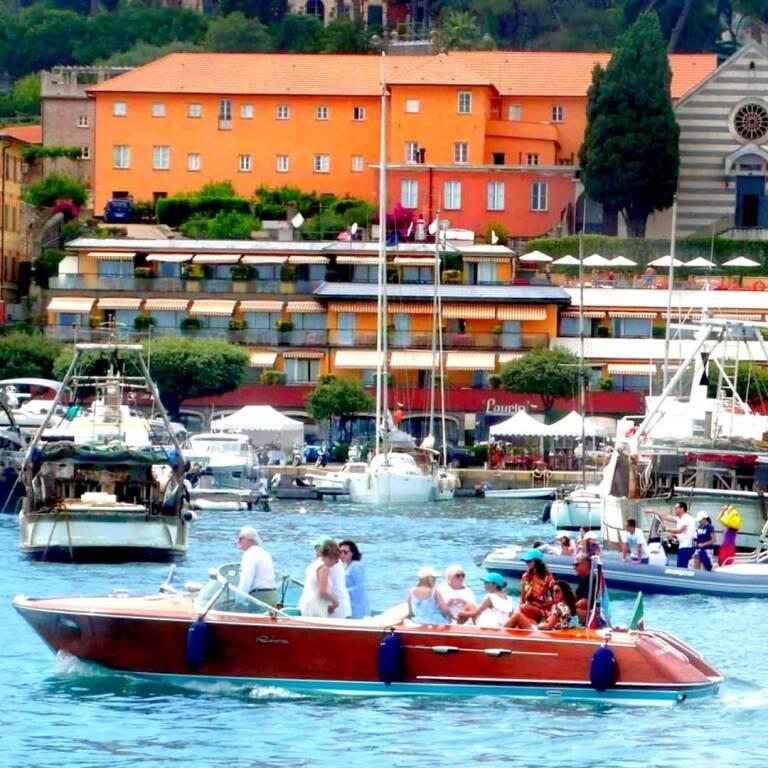 I motoscafi Carlo Riva a Santa Margherita