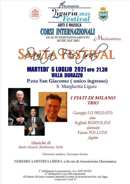 locandina concerto 6 luglio santa margherita