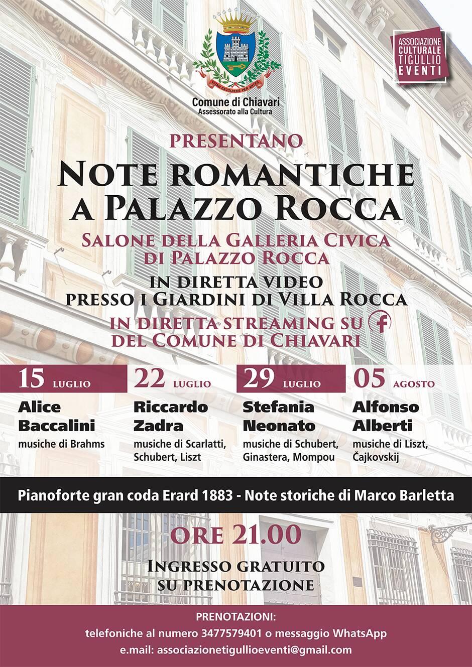 locandina note romantiche