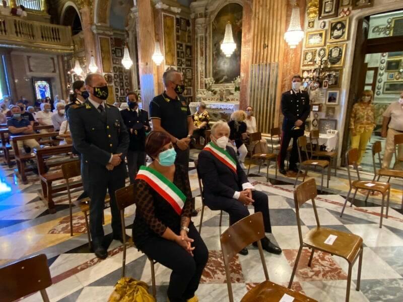 Messa solenne a Rapallo