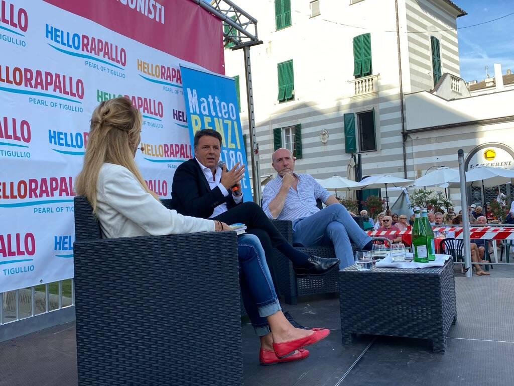 Rapallo Protagonisti Matteo Renzi