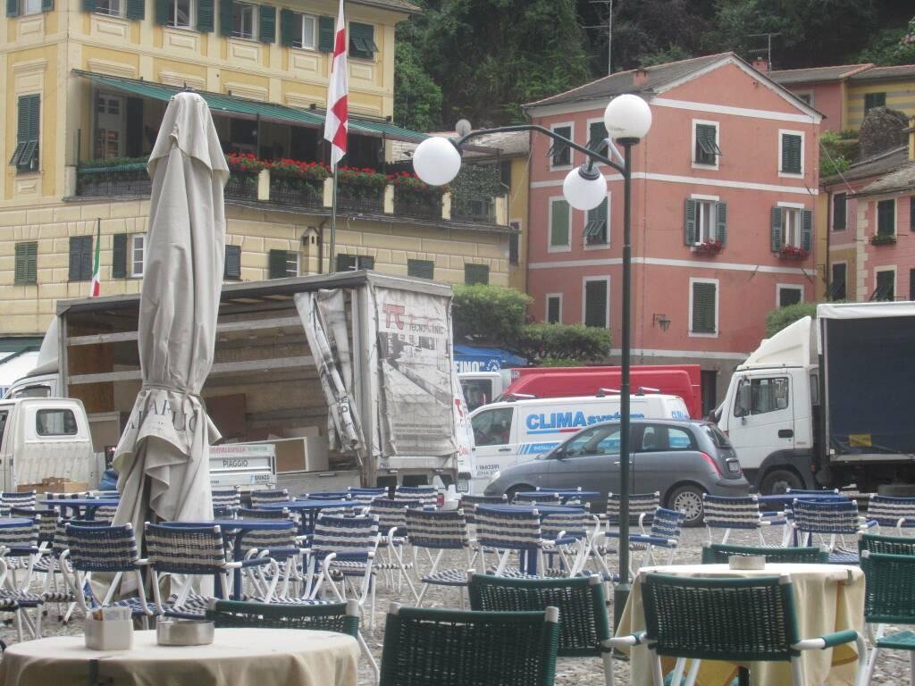rifornimenti a Portofino
