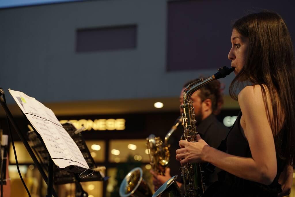 Roberto Alinghieri e l'Exclusive Saxophone Quartet