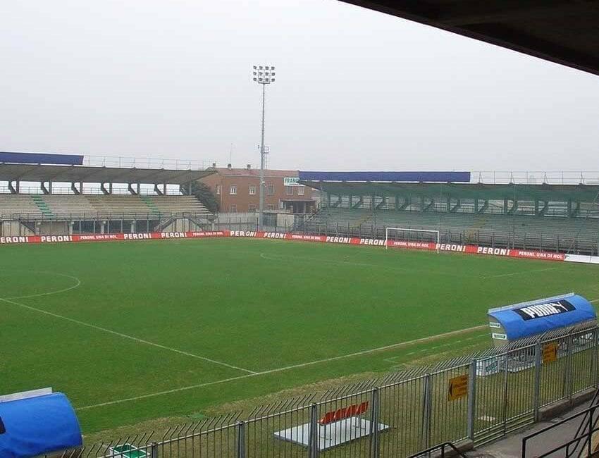 stadio fortunati di Pavia