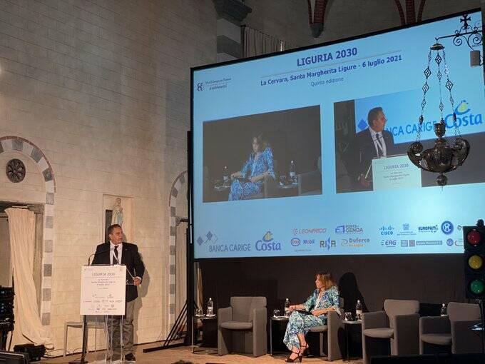 Toti a Forum Liguria 2030