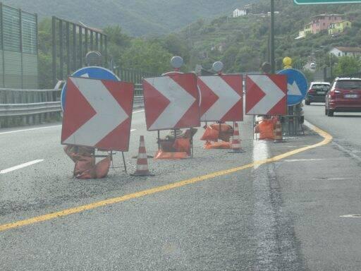 A-12 chiuso tratto  Recco-Rapallo