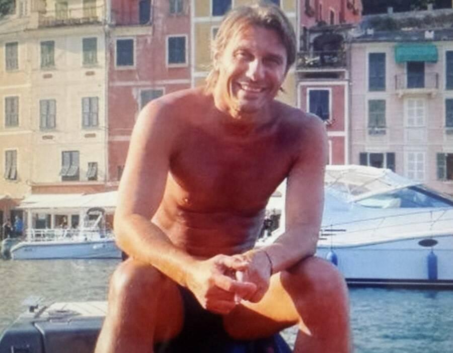 Antonio Conte a Portofino