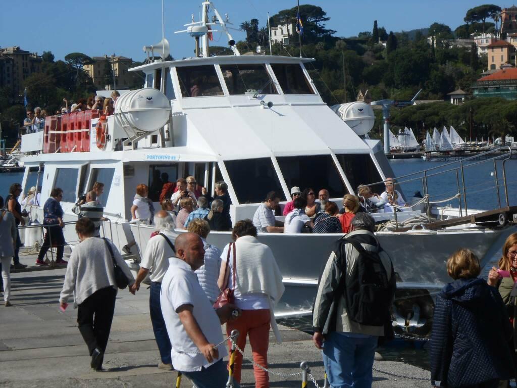 battelli, partenza da Rapallo