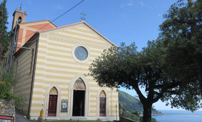 Camogli chiesa monastero olivetani