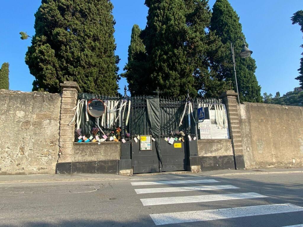 Camogli crollo cimitero Comitato Caligo