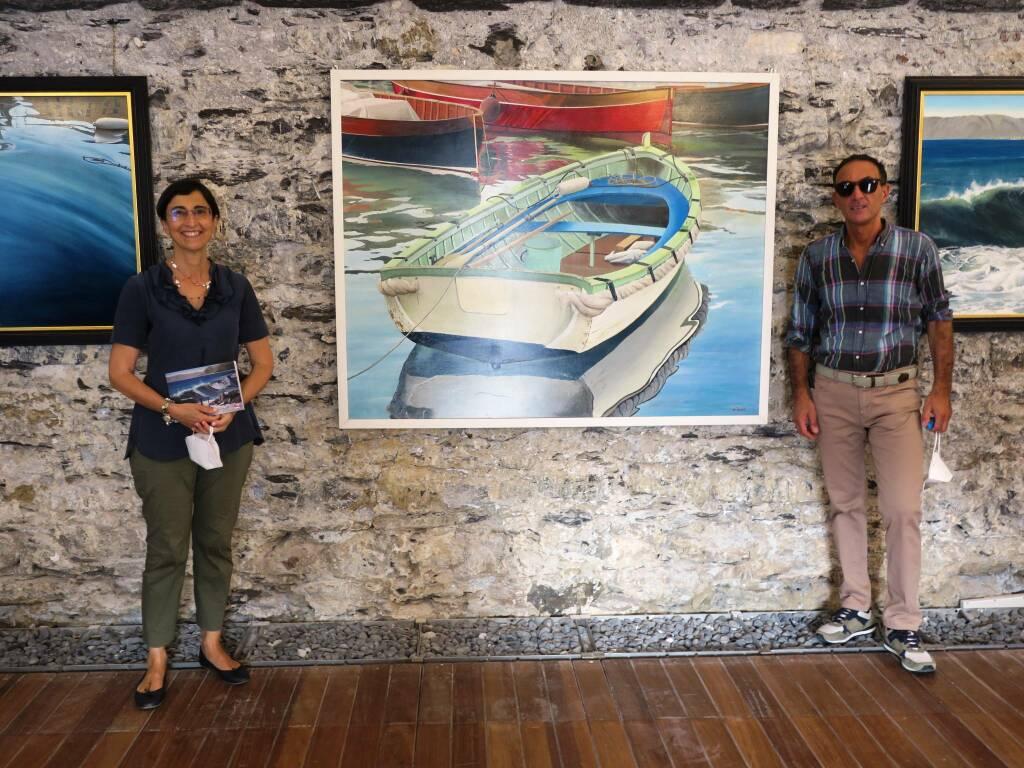 Camogli mostra Alberto Perini