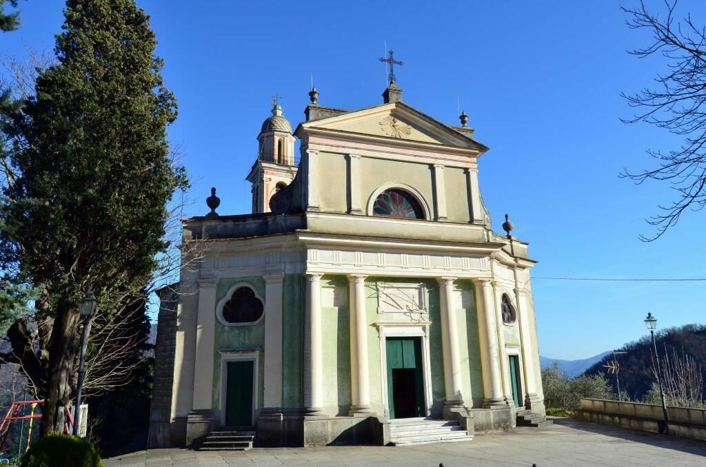 Coreglia Ligure chiesa san nicolò