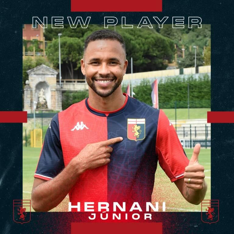 hernani (ph Genoa Cfc)