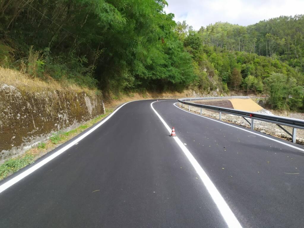 inaugurazione strada fra i comuni di Brugnato e Rocchetta Vara
