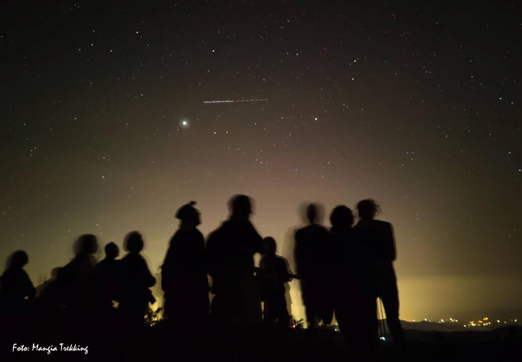 Notte stellare foto Mangia Trekking