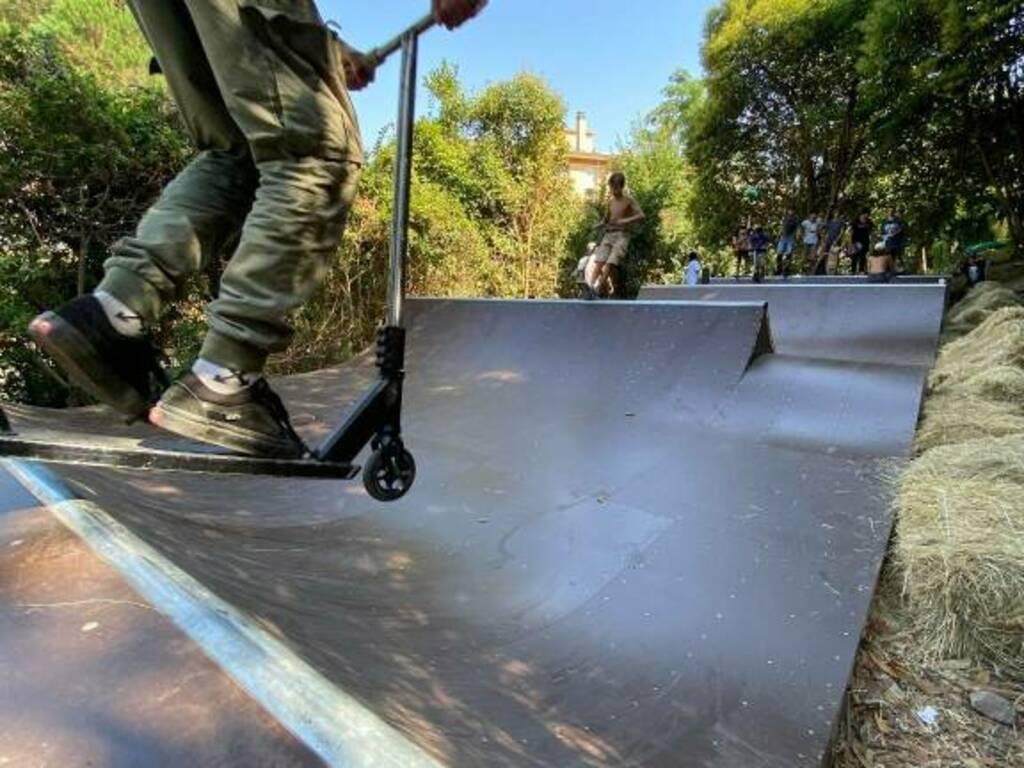 Rapallo Parco delle Fontanine skatepark