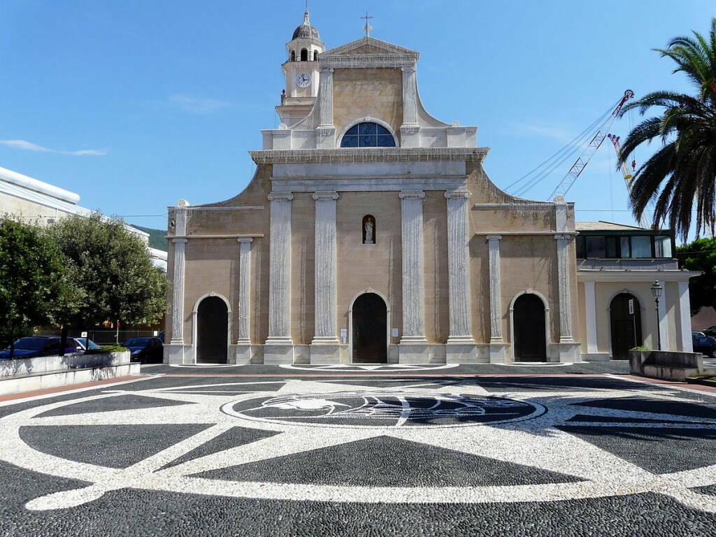 Riva Trigoso chiesa parrocchiale di San Pietro Apostolo