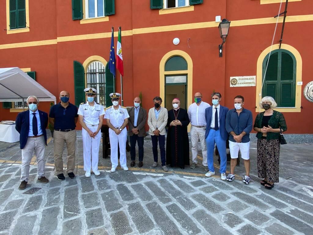 Santa inaugurazione sede ufficio circondariale marittimo