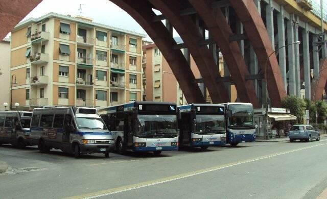 bus, recco, capolinea, amt