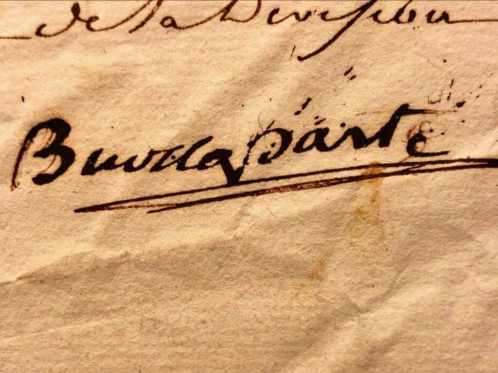 Chiavari mostra con lettere autografe di Napoleone