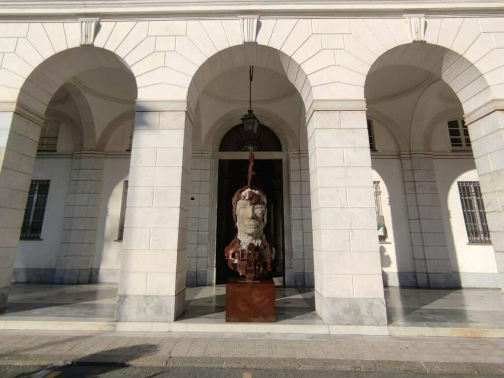 Chiavari statua opera di Vitaliano Marchetto