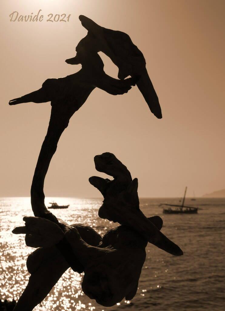 foto scultura di Erminio Tansini