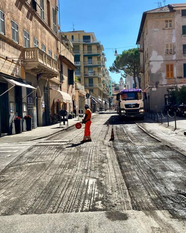 Rapallo asfaltature
