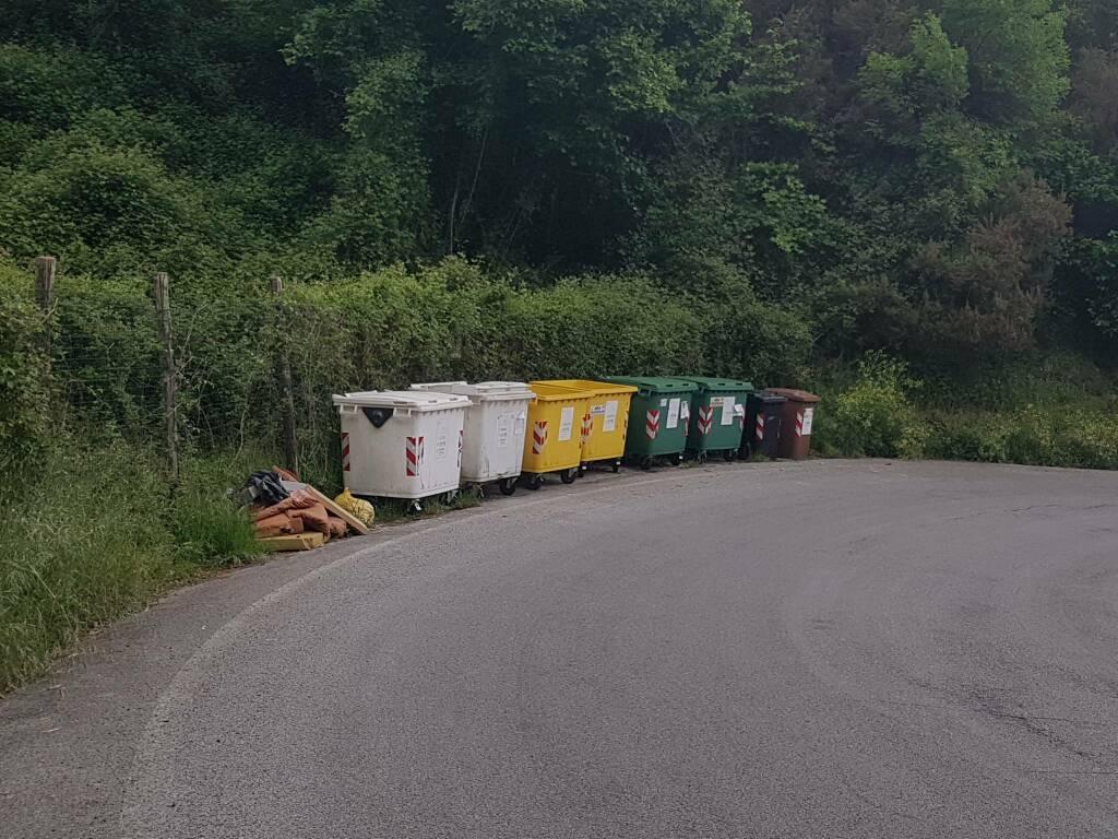 San Colombano, i rifiuti