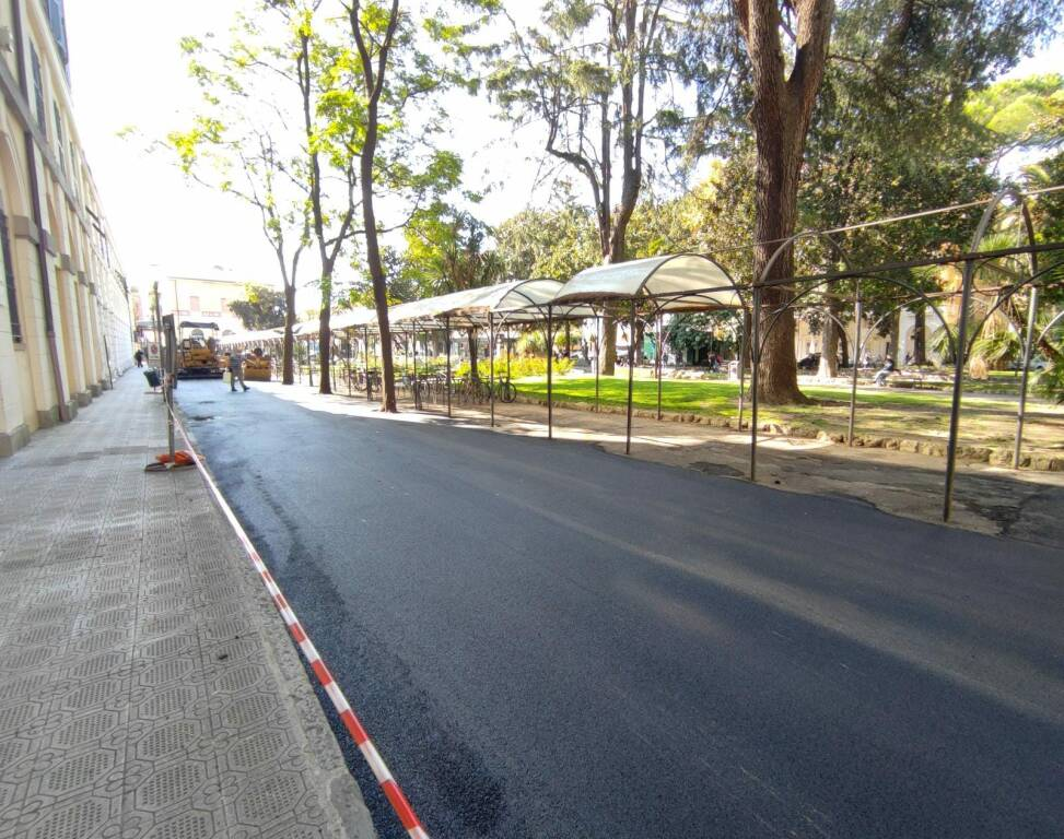 Chiavari asfaltature