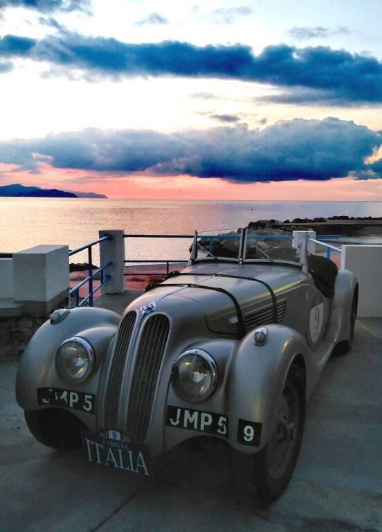Santa auto d'epoca