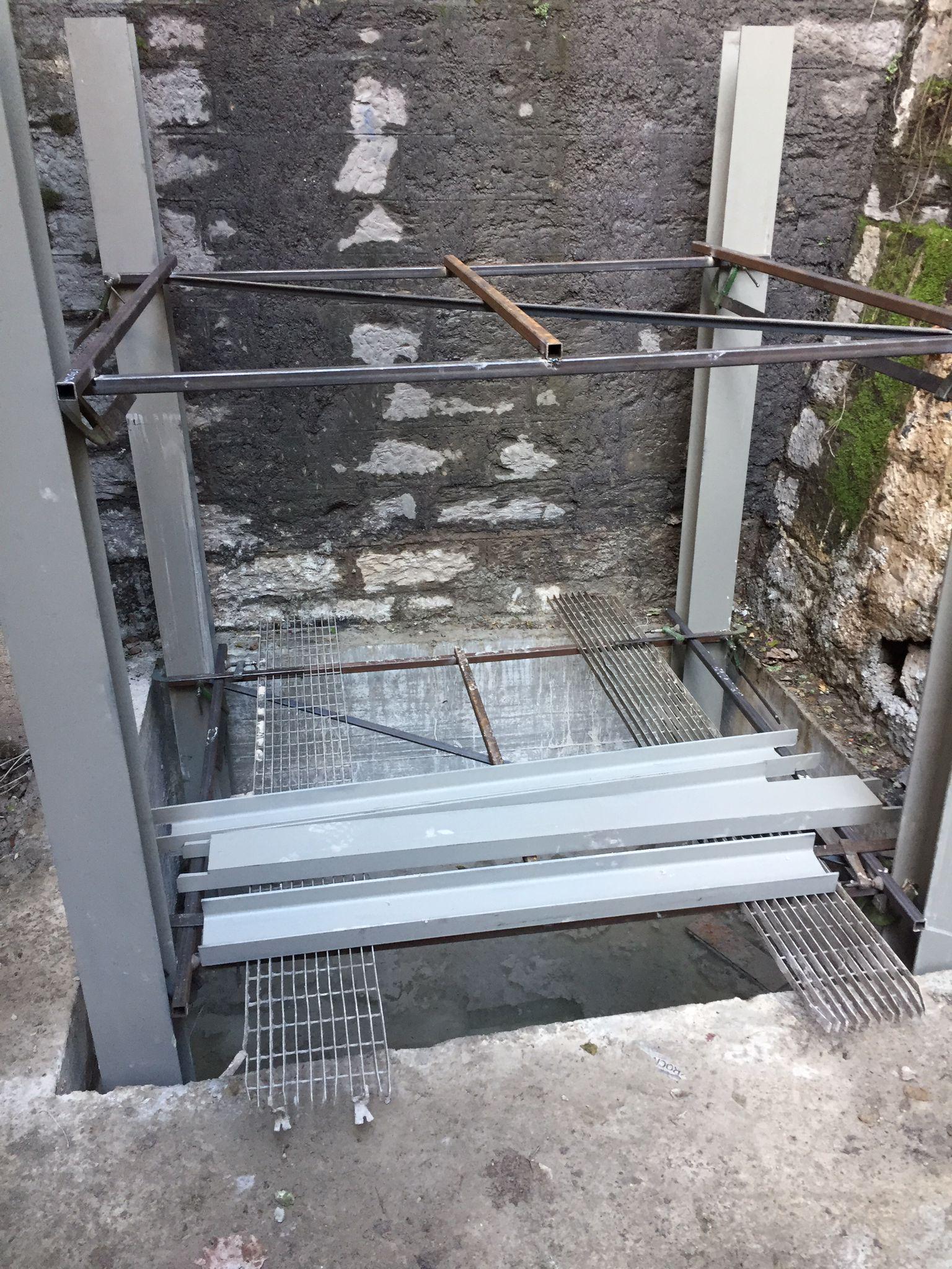 Camogli: ascensore del Torrasco, proseguono i lavori