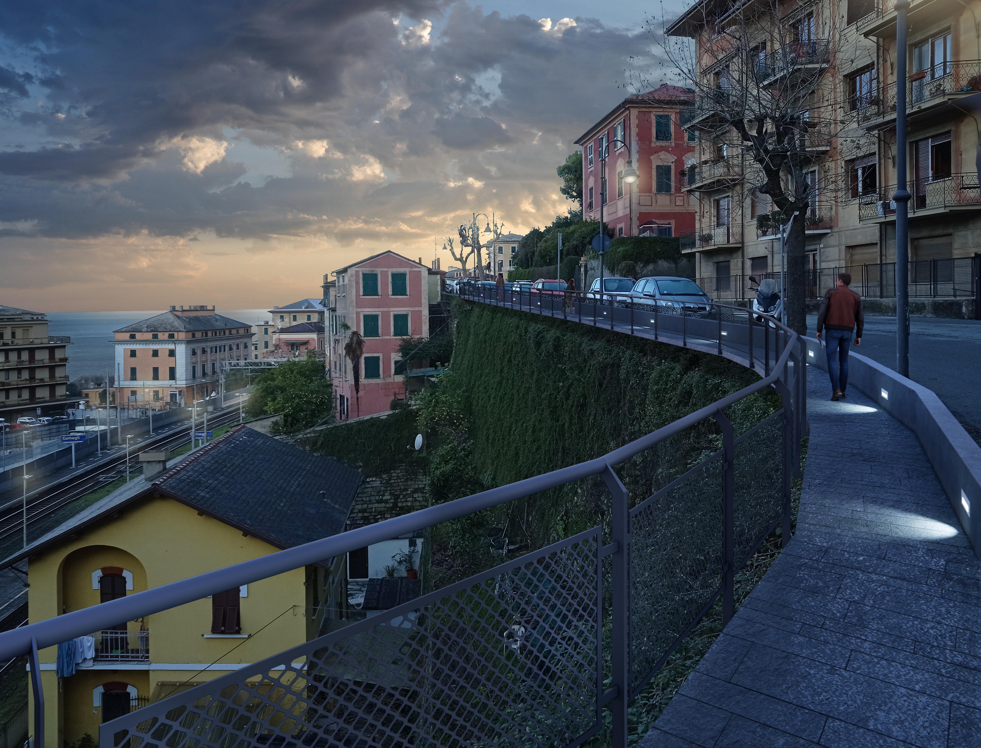 Camogli: via Bettolo, al via i lavori della nuova passerella