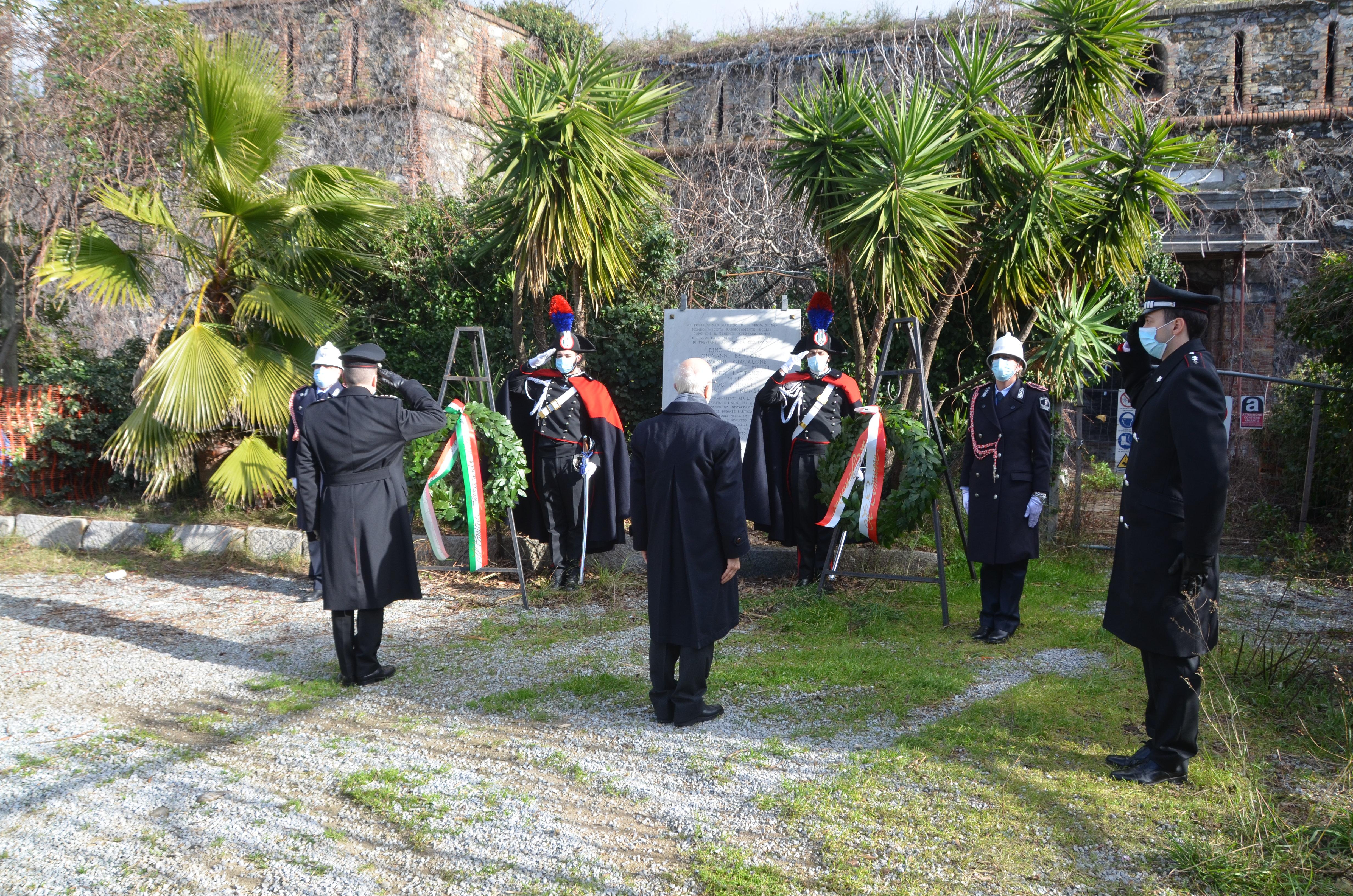 Anniversari: 77 anni fa l'eccidio di Forte San Martino