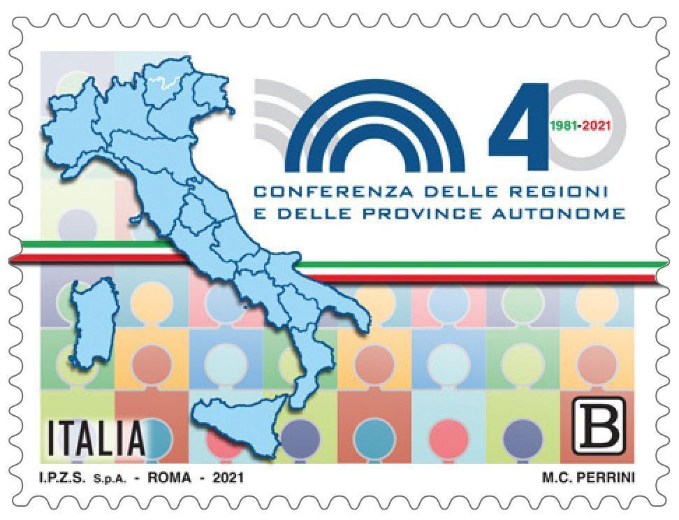 Autonomia Regioni: anniversario e francobollo celebrativo