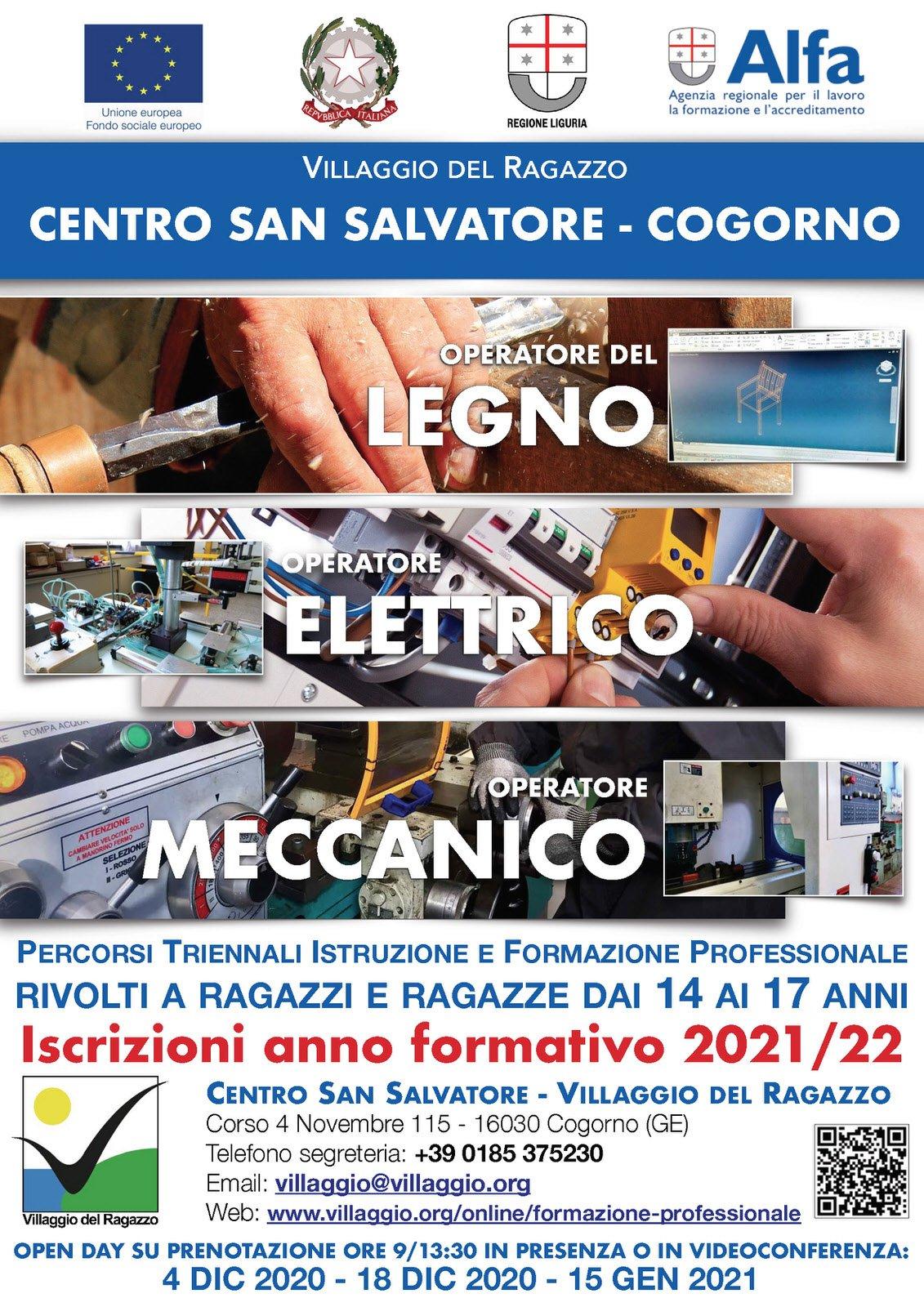 Cogorno: 'Villaggio', venerdì un nuovo open day