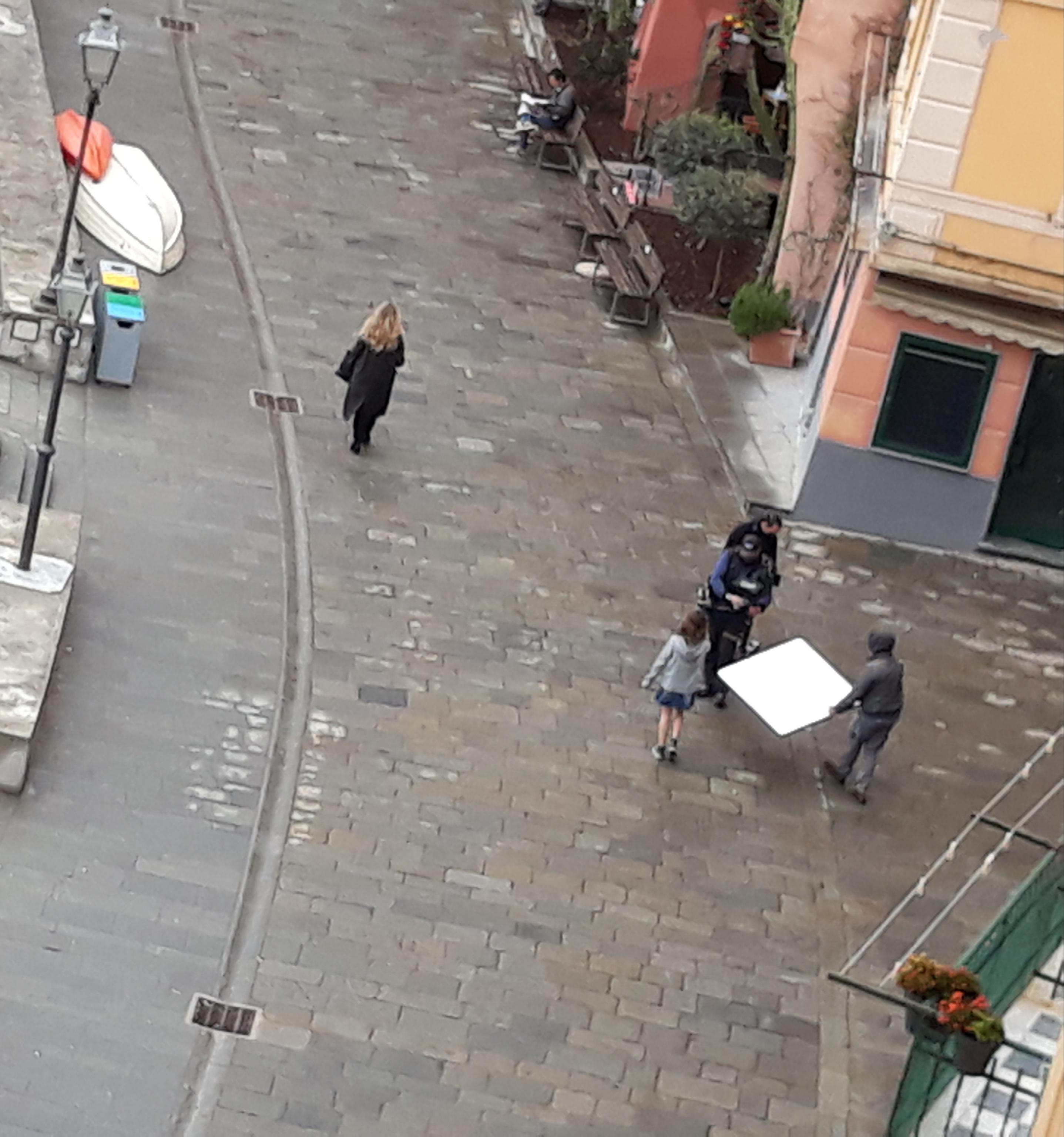 """Camogli: set di """"Blanca"""", proseguono le riprese"""