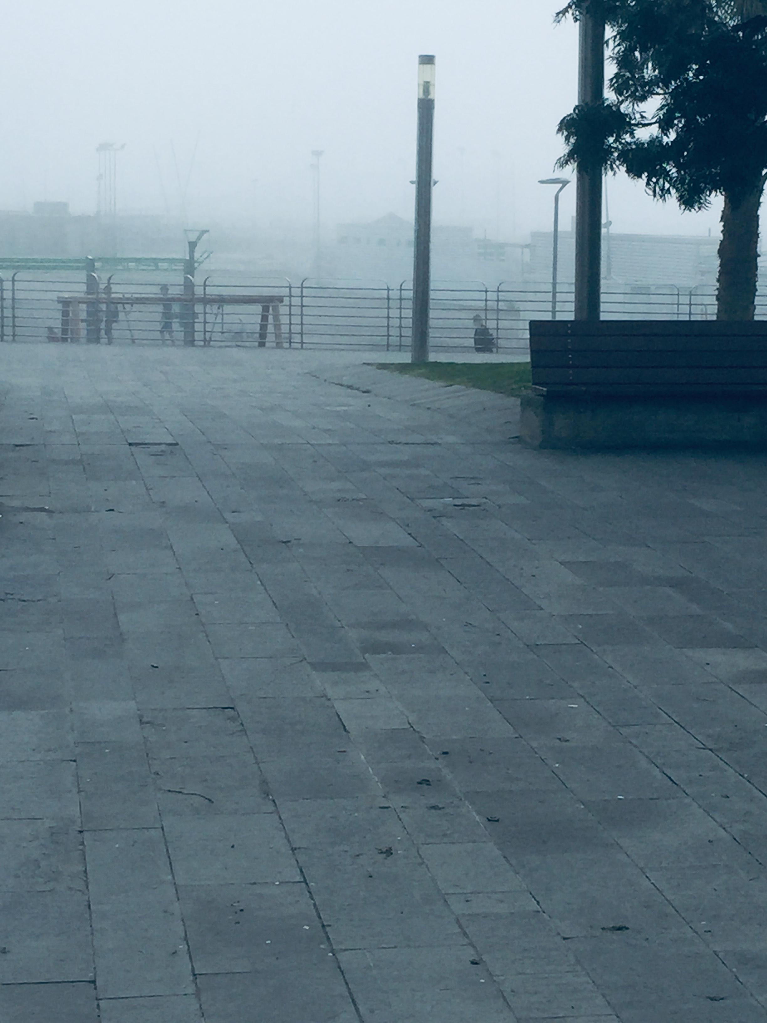 Chiavari: il 'caligo' di febbraio invade anche la costa