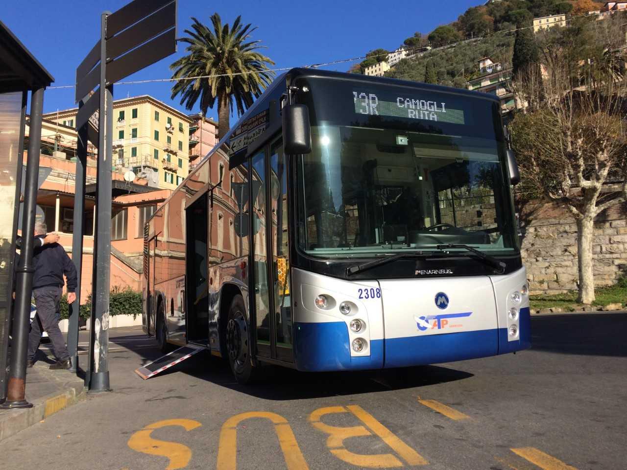 Calvari e Camogli: modifiche a linee bus e trasporti scolastici