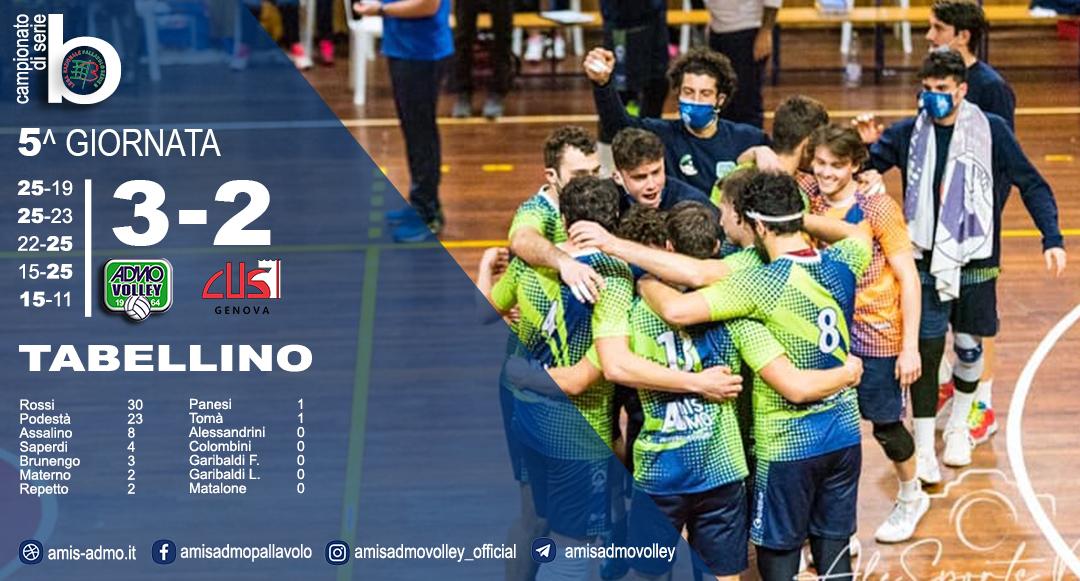 Volley/ Amis-Admo: i risultati del Campionato