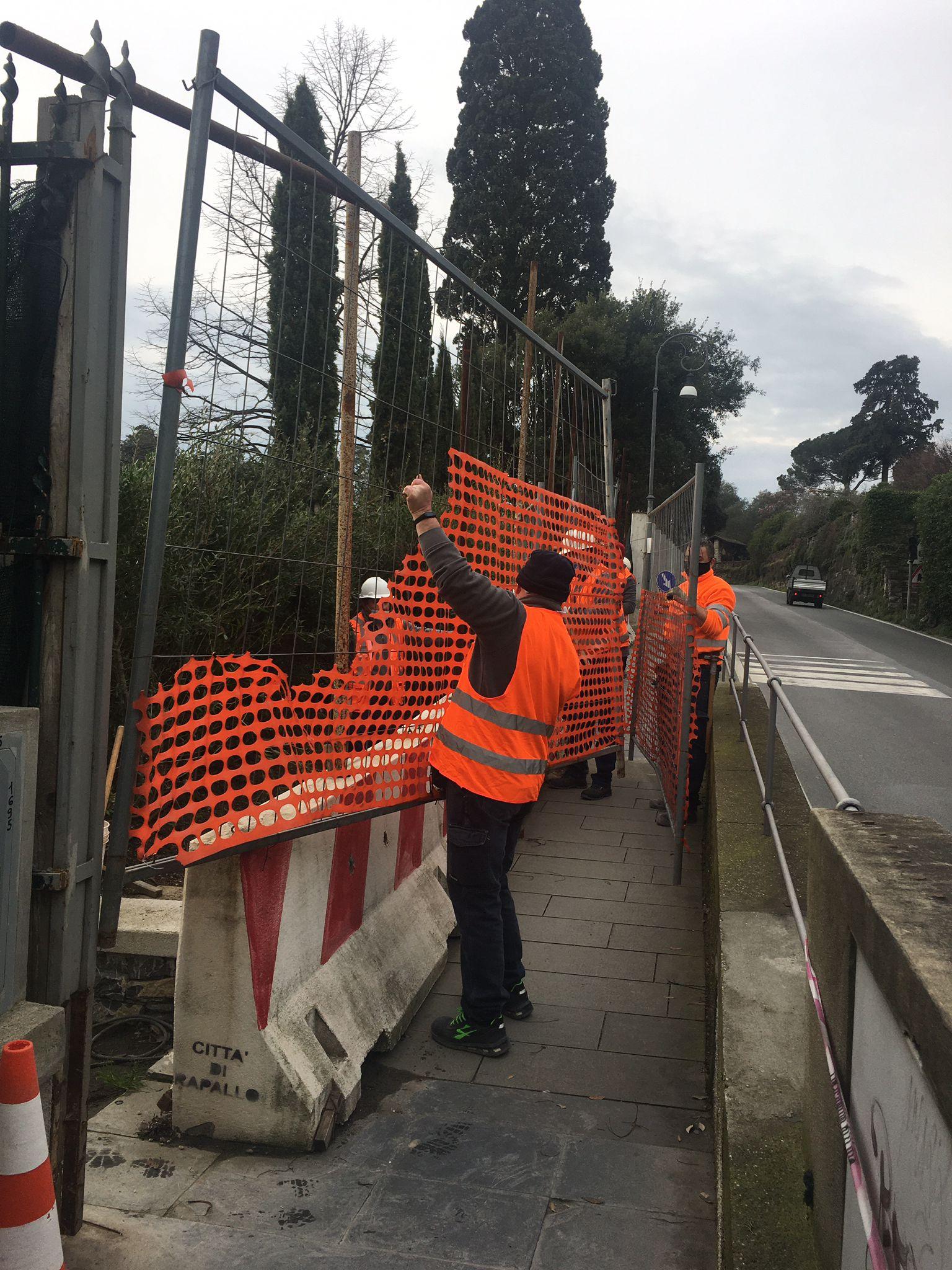 Rapallo: San Michele, il cantiere per ultimare i lavori